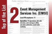 No. 2 on the List is Event Management Services Inc.