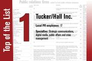 No. 1 on the List is Tucker/Hall Inc.