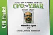 Robert Rodriguez is a finalist in the Nonprofit category.
