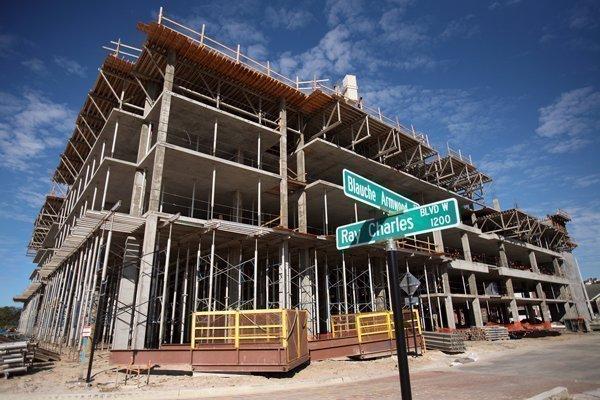 Encore construction site