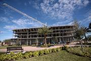 Ella at Encore is a 160-unit senior housing building under construction, part of the first phase of Encore's development. The Tampa Housing Authority has space to build eight to nine buildings, including housing, retail, hotel and office space.