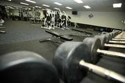 Tampa Bay Rays weight room