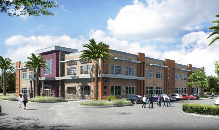Rendering of Equity Inc.'s medical office building