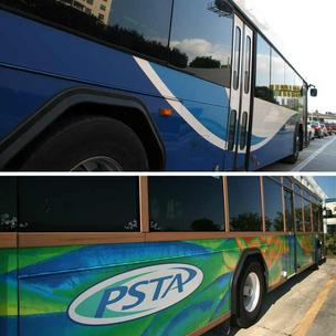 HART and PSTA buses