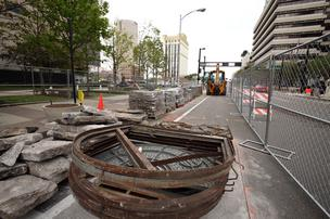 Enhancements to downtown Tampa continue ahead of the Republican National Convention.