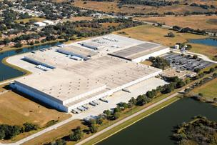 Albertson's distribution center in Plant City.