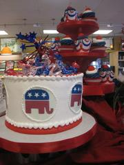 Elephant-themed desserts at Alessi Bakeries in Tampa.
