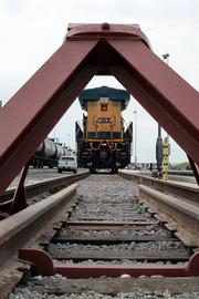 The Gateway Rail Terminal is an $11 million project that has been a partnership between the port, CSX Corp. and Kinder Morgan Energy Partners LP.