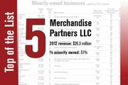 No. 5 on the list is Merchandise Partners LLC.