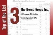 No. 3 on the list is The Bernd Group Inc.