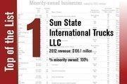 No. 1 on the list is Sun State International Trucks LLC.