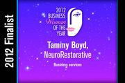 Tammy Boyd is a Business services finalist.