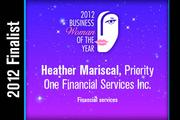Heather Mariscal is a Financial services finalist.