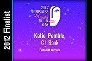 Katie Pemble is a Financial services finalist.