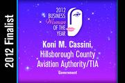 Koni M. Cassini is a Government finalist.