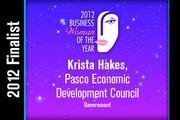 Krista Hakes is a Government finalist.