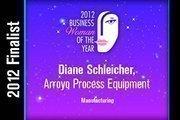 Diane Schleicher is a Manufacturing finalist.