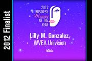 Lilly M. Gonzalez is a Media finalist.