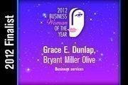 Grace E. Dunlap is a Business services finalist.