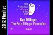Kay Dillinger is a Nonprofit finalist.