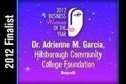 Dr. Adrienne M. Garcia is a Nonprofit finalist.