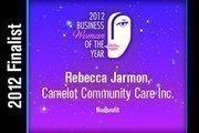 Rebecca Jarmon is a Nonprofit finalist.