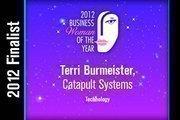 Terri Burmeister is a Technology finalist.