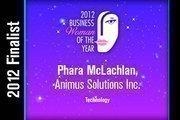 Phara McLachlan is a Technology finalist.