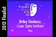 Briley Cienkosz is a Young finalist.