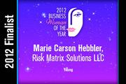 Marie Carson Hebbler is a Young finalist.