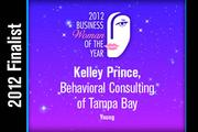 Kelley Prince is a Young finalist.