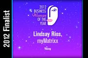 Lindsay Rios is a Young finalist.