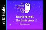 Valerie Harwell is a Business services finalist.