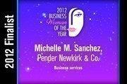 Michelle M. Sanchez is a Business services finalist.