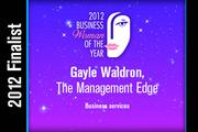Gayle Waldron is a Business services finalist.