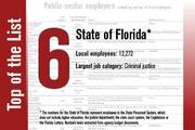 No. 6 on the List is the State of Florida.