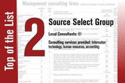 Source Select Group is No. 2 on the List.