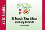St. Francis Sleep Allergy and Lung Institute (2-40 employees category)