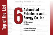 No. 6 on the List is Automated Petroleum and Energy Co. Inc.