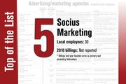 No. 5 on the List is Socius Marketing