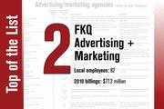 No. 2 on the List is FKQ Advertising + Marketing
