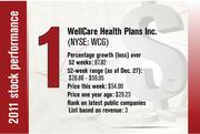 No. 1 is WellCare Health Plans Inc.