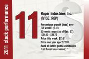 No. 11 is Roper Industries Inc.