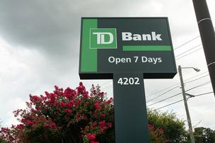 About 260,000 TD Bank customers who may be impacted by a data breach.