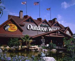 Bass Pro Shops Outdoor World in Orlando
