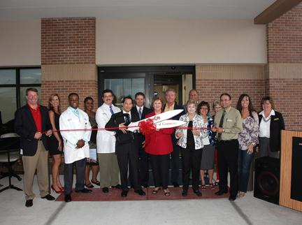 Ribbon cutting ceremony for Brandon Regional Hospital's ER at Plant City