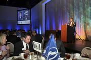 Tampa Bay Lightning Owner Jeff Vinik delivers a keynote address.