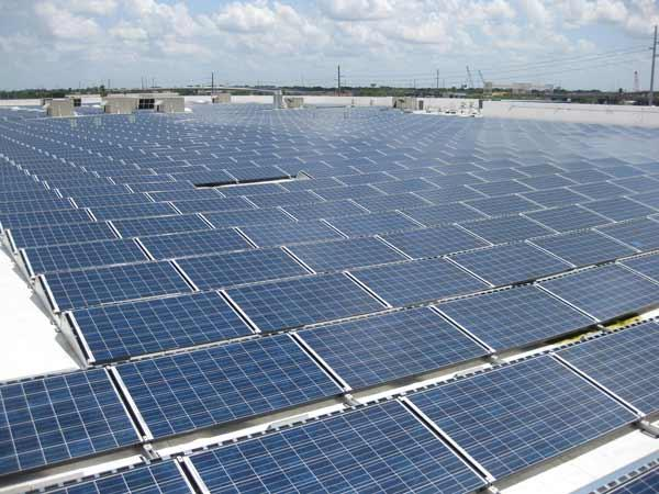 Ikea has powered up nearly 6,664 solar panels at its store in Round Rock — the store's largest U.S. rooftop solar installation to date.