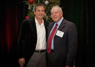 NAIOP 2012 Hall of Fame Inductee Ron Rotella and NAIOP 2012 President Michael Brooks