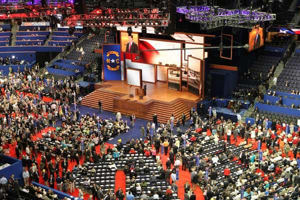The Republican National Convention at the Tampa Bay Times Forum